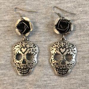 Jewelry - Sugar skull earrings.